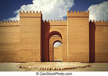 Las grandes murallas de Babylon