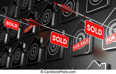 Las inmobiliarias vendieron el concepto de signos.