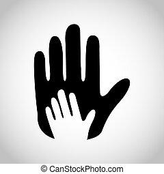 Las manos ayudan a diseñar