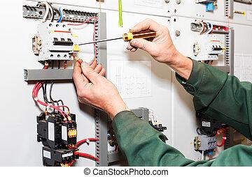 Las manos eléctricas funcionan