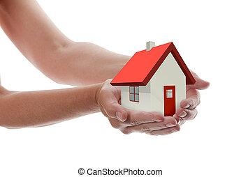 Las manos, la casa
