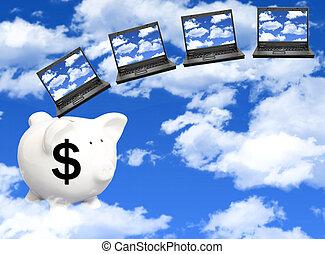 Las nubes computan los costos