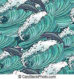 Las olas del mar no tienen marcas