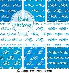 Las olas del océano no tienen fondo
