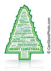 Las palabras mágicas del tr de Navidad