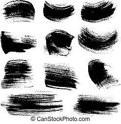 Las pinceladas texturas marcan 4