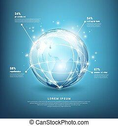 Las redes globales de vectores informativos