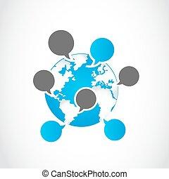 Las redes sociales comparten burbujas de habla