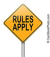 Las reglas se aplican.