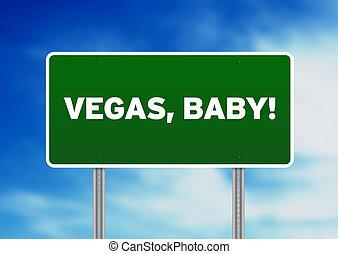 Las Vegas, signo de la autopista