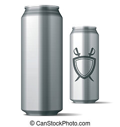 lata, bebida