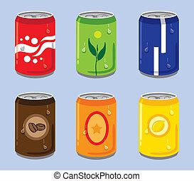 latas, colorido