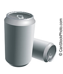 Latas de aluminio