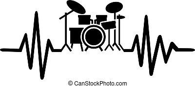 Latidos de tambores