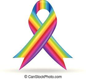 Lazo arcoíris