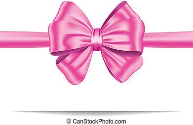 Lazo rosa con arco