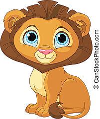 León de dibujos animados