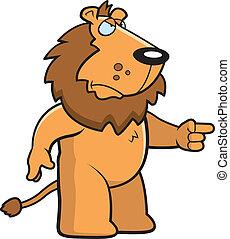 león furioso