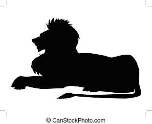 León, símbolo de poder
