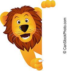 León y estandarte