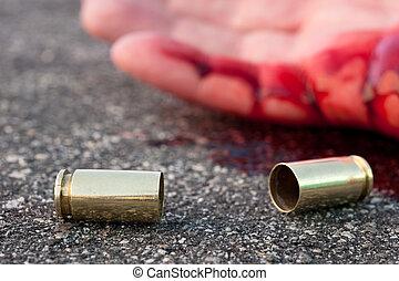 Le dispararon en la calle