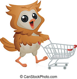 Lechuza de compras