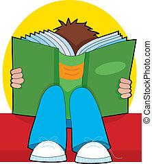 lectura chico, joven