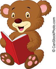 Lectura de osos lindos