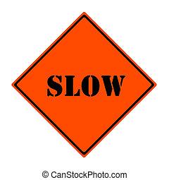 lento, señal