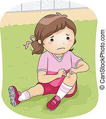 Lesión de fútbol