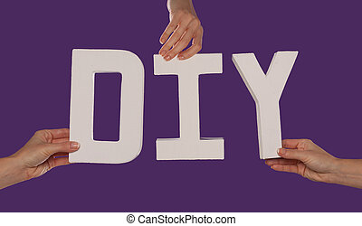 letras, alfabeto, blanco, ortografía, diy