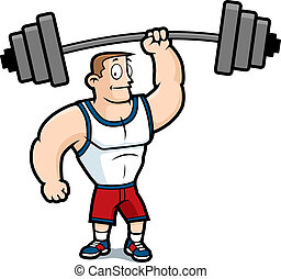 Levantando pesas