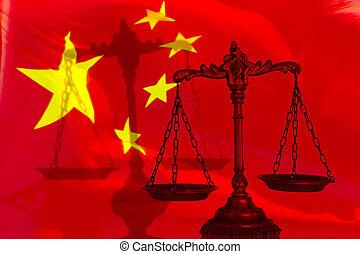 Ley china y justicia