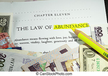 Ley de abundancia