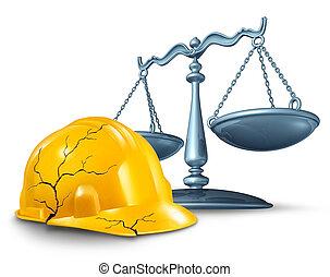 Ley de lesiones de construcción