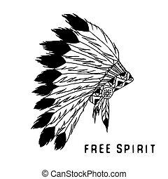 Leyenda tribal al estilo indio