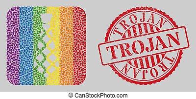 lgbt, a cuadros, watermark, corbata, angustia, mosaico, trojan, subtracted