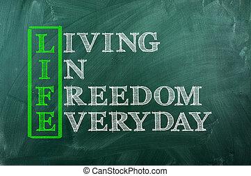 Libertad de vida