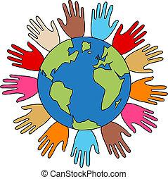 libertad, paz, diversidad