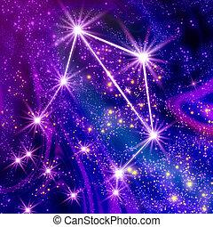 libra, constelación