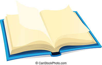 libro, abierto, icono