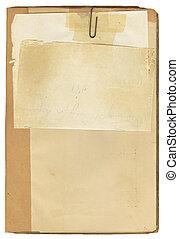 Libro antigüedad y papel