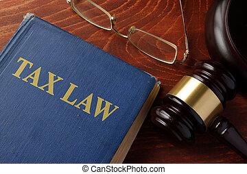 Libro con derecho de impuestos
