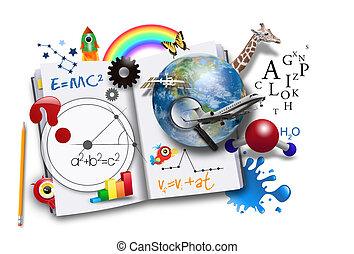 Libro de aprendizaje abierto con ciencia y matemáticas
