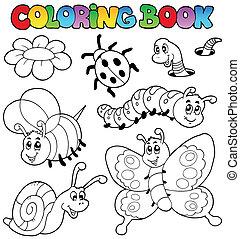 Libro de color con pequeños animales 2