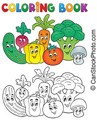 Libro de color vegetal tema 2