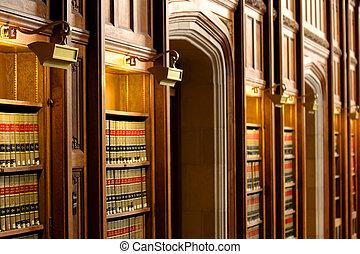 libro de derecho, biblioteca