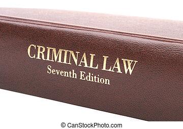 Libro de Derecho Criminal