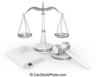 libro de derecho, martillo, legal, escalas