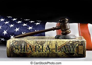 Libro de leyes Sharia.